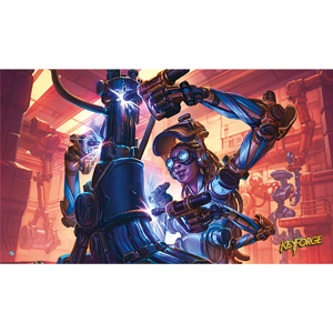 Keyforge: In the Lab Playmat