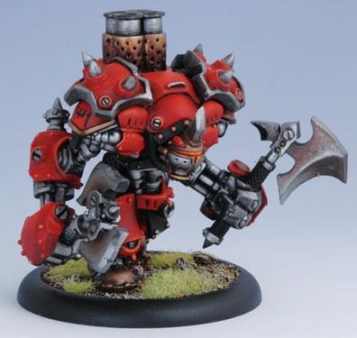 Warmachine: Khador (33028): Berserker