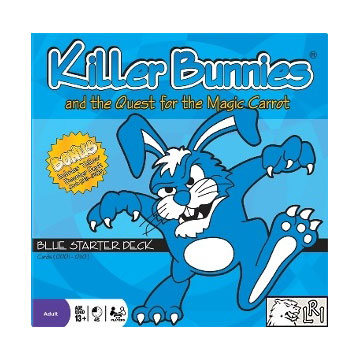 Killer Bunnies And The Quest For The Magic Carrot: Blue Starter [Damaged]