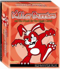 Killer Bunnies And The Quest For The Magic Carrot: Red Booster [Damaged]