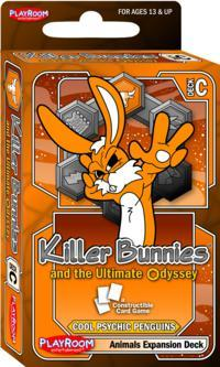 Killer Bunnies And The Ultimate Odyssey: Burn Baby Burn: Expansion: Animals Deck C (SALE)