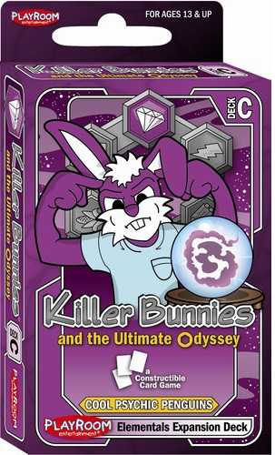 Killer Bunnies And The Ultimate Odyssey: Burn Baby Burn: Expansion: Elementals Deck C (SALE)