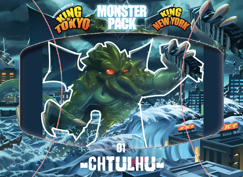 King Of Tokyo: Monster Pack 01- Cthulhu