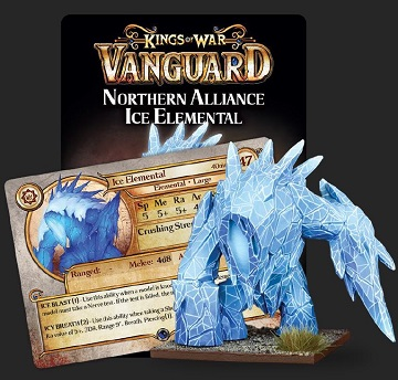 Kings Of War Vanguard: Northern Alliance Ice Elemental