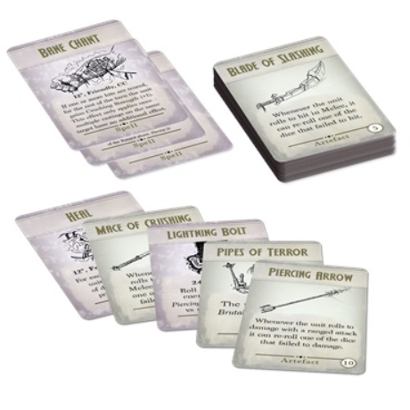 Kings of War: 3rd Edition Spell & Artefact Cards