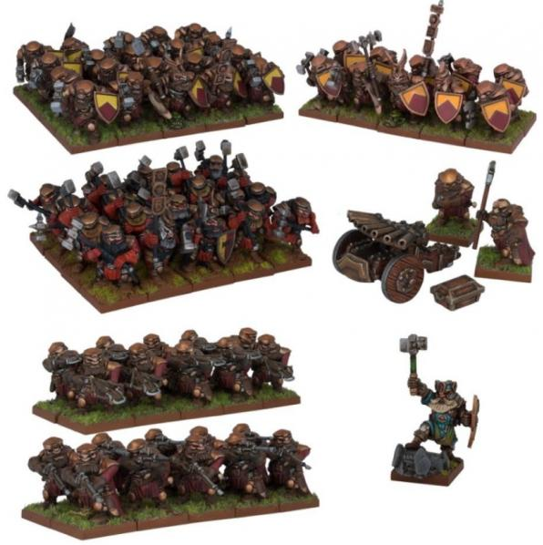 Kings of War: Dwarfs: Army