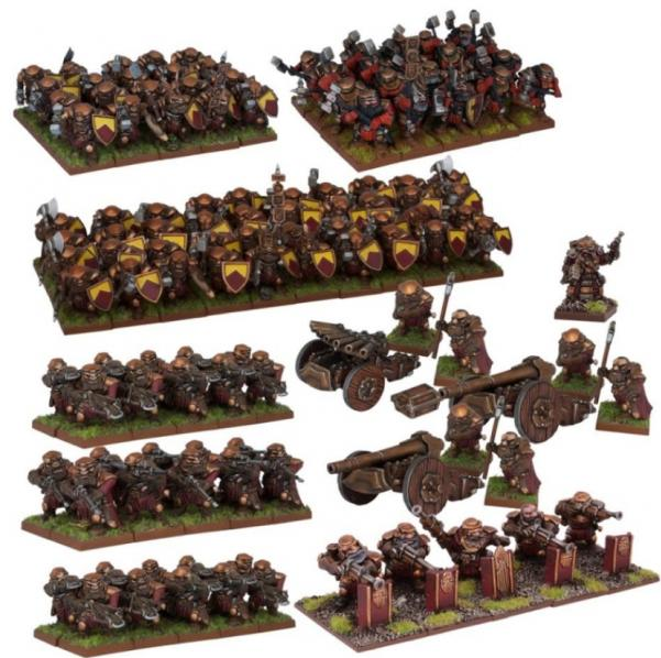Kings of War: Dwarfs: Mega Army