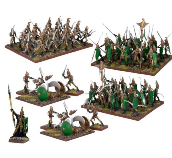Kings of War: Elves: Elf Army