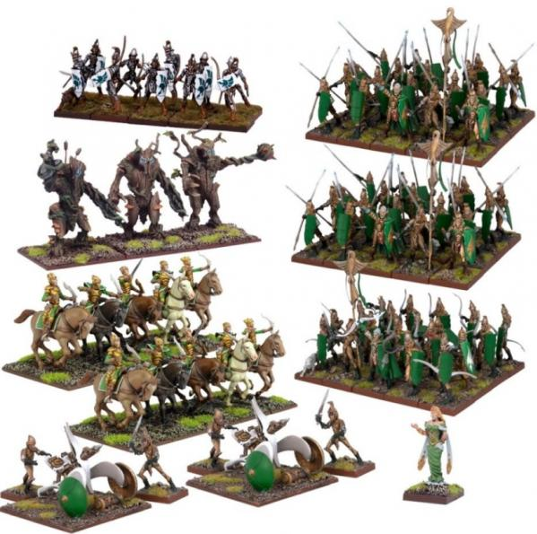 Kings of War: Elves: Mega Army