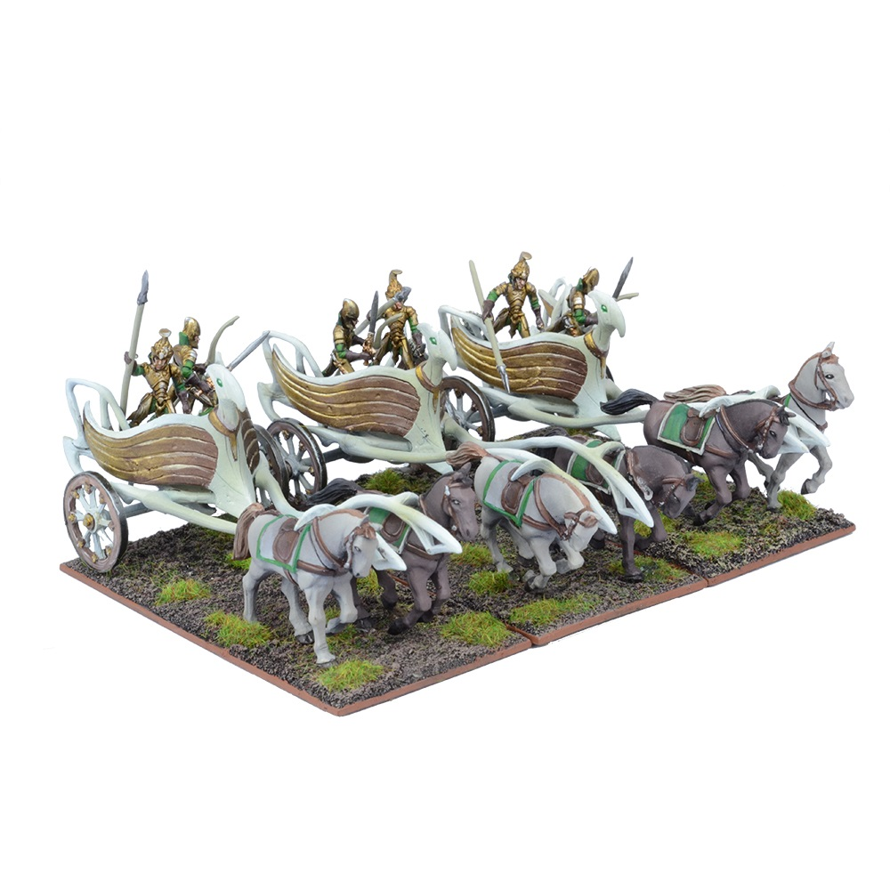 Kings of War: Elves: War Chariot Regiment