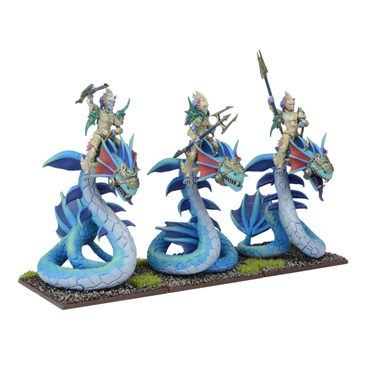 Kings of War: Forces Of Nature: Naiad Wyrmriders