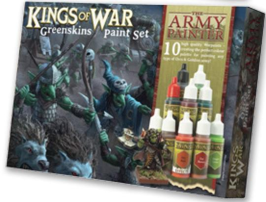 Kings of War: Greenskins Paint Set