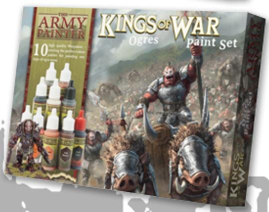 Kings of War: Ogres Paint Set