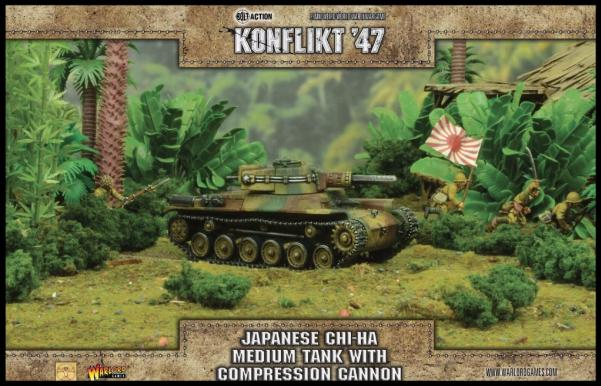 Konflikt 47: Japanese- Chi-Ha Medium Tank with Compression Cannon
