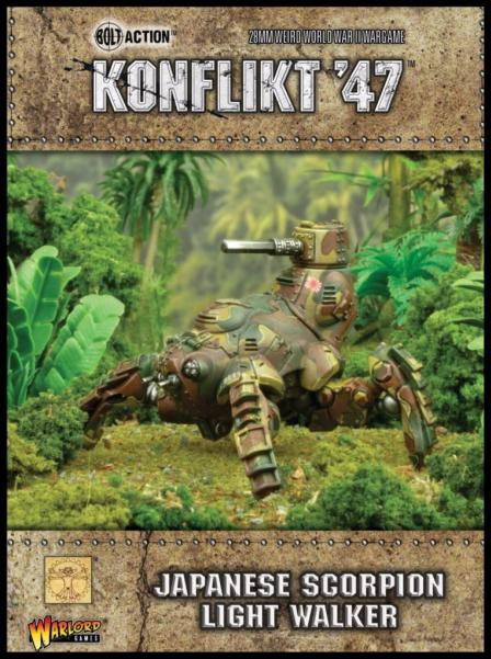 Konflikt 47: Japanese- Scorpion Light Walker
