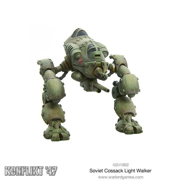 Konflikt 47: Soviet Cossack Light Walker