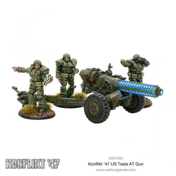 Warlord Games - Konflikt '47: US Tesla Anti-Tank Gun