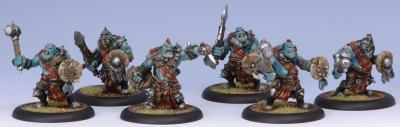 Hordes: Trollbloods (71013): Kriel Warrior Unit