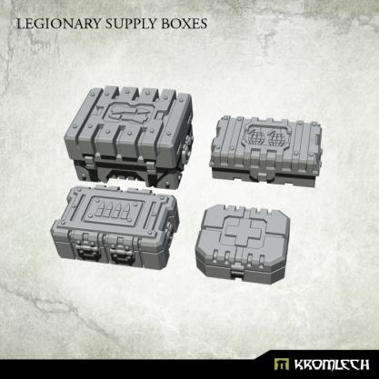 Kromlech Conversion Bitz: Legionary Supply Boxes