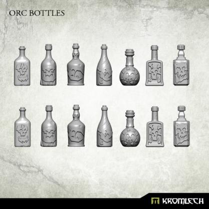 Kromlech Conversion Bitz: Orc Bottles (14)