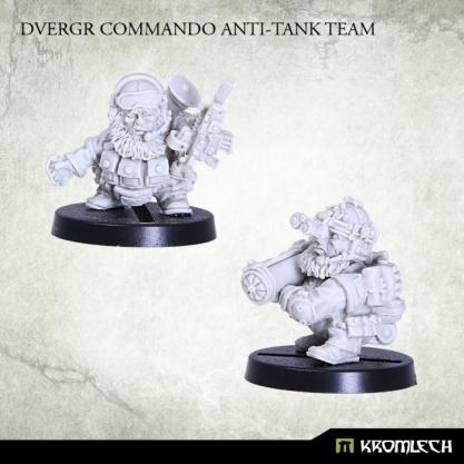 Kromlech Miniatures: Dvergr Commando Anti-Tank Team (2)