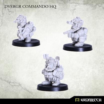 Kromlech Miniatures: Dvergr Commando HQ (3)