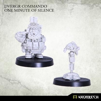 Kromlech Miniatures: Dvergr Commando One Minute of Silence