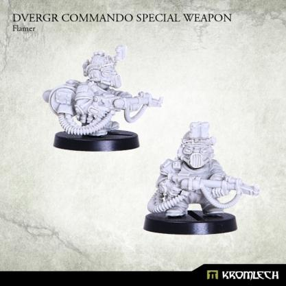 Kromlech Miniatures: Dvergr Commando Special Weapon- Flamer
