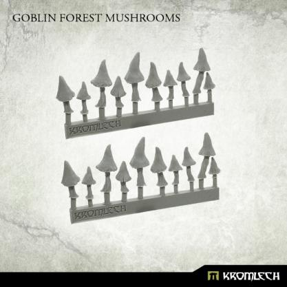 Kromlech Miniatures: Goblin Forest Mushrooms