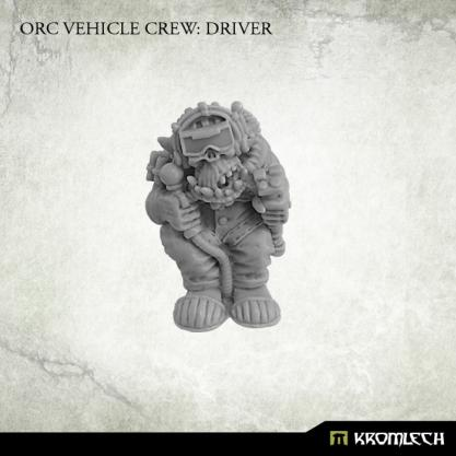 Kromlech Miniatures: Orc Vehicle Crew Driver