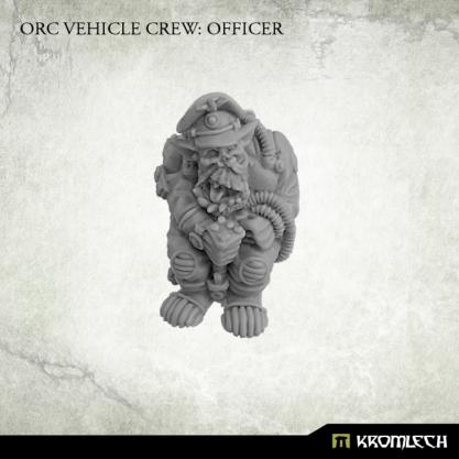 Kromlech Miniatures: Orc Vehicle Crew Officer