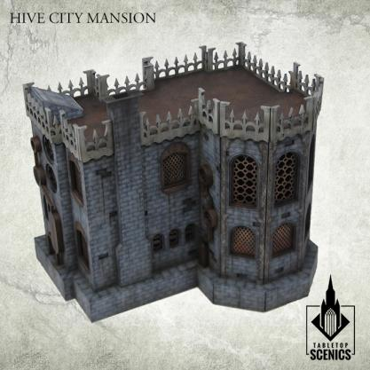 Kromlech Tabletop Scenics: Hive City Mansion
