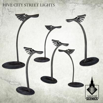 Kromlech Tabletop Scenics: Hive City Street Lights