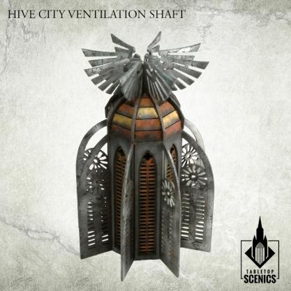 Kromlech Tabletop Scenics: Hive City Ventilation Shaft
