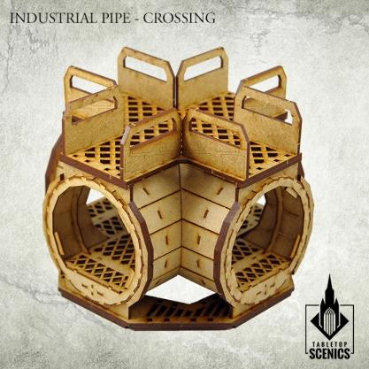 Kromlech - Kromlech Tabletop Scenics: Industrial Pipe – Crossing
