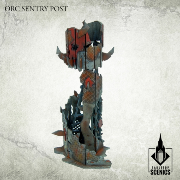 Kromlech Tabletop Scenics: Orc Sentry Post