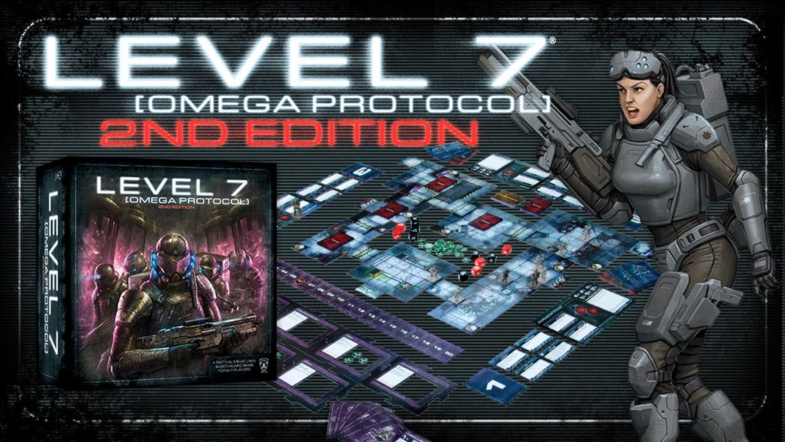 LEVEL 7: Omega Protocol - Second Edition [Damaged]