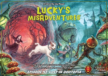 LUCKYS MISADVENTURES EPISODE 42: LOST IN ODDTOPIA