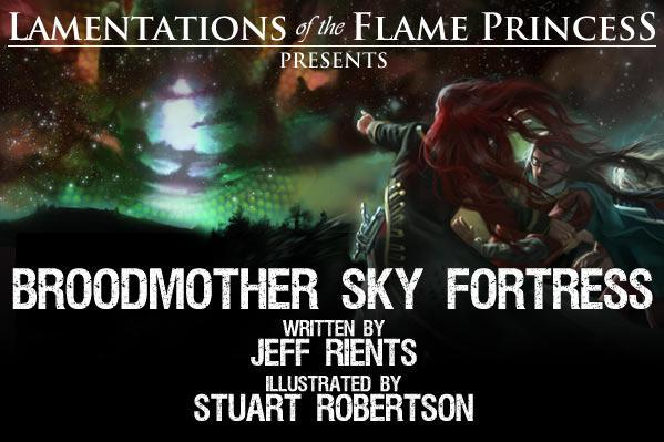 Lamentations of the Flame Princess: Broodmother SkyFortress (HC)