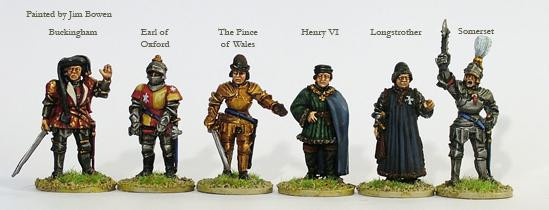 Perry: 28mm Historical: Lancastrian Command On Foot