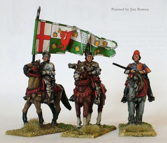 Perry: 28mm Historical: Lancastrian Mounted High Command