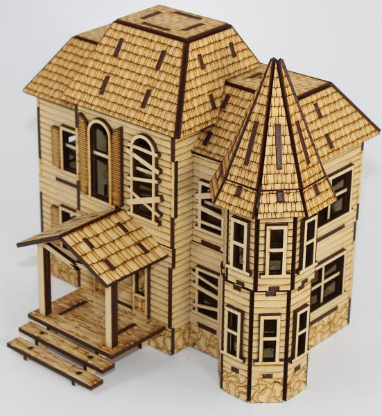 Laser Craft Workshop 28mm: Abandoned Manor