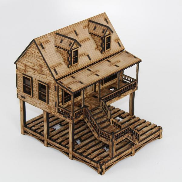 Laser Craft Workshop 28mm: High House