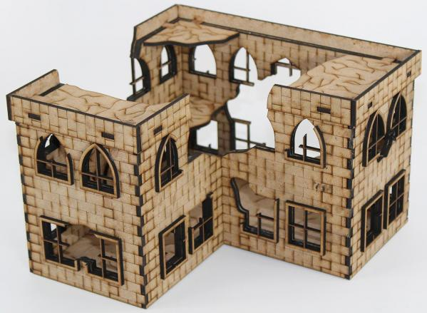 Laser Craft Workshop 28mm: Martense Hall Ruins