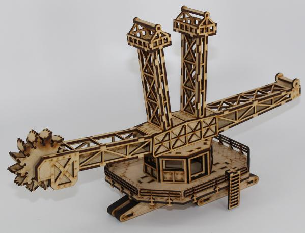 Laser Craft Workshop 28mm: The Behemoth - Bucket Wheel Excavator