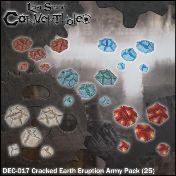 Last Stand Convertibles Bitz: Cracked Earth Eruption Army Pack (25)