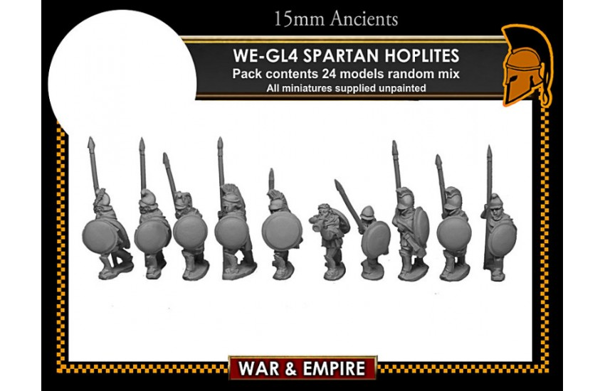 Later Greek: Spartan/Cloaked Hoplites