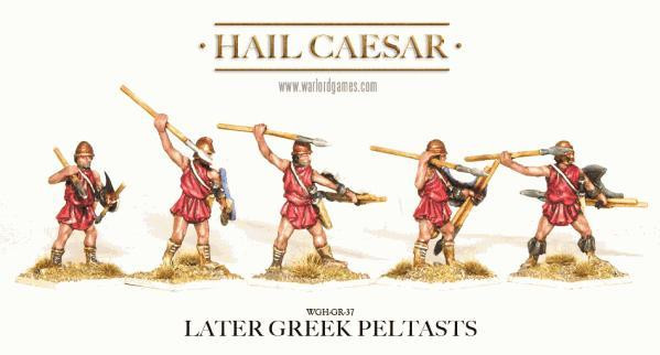 Hail Caesar: Greeks: Later Greek Peltasts