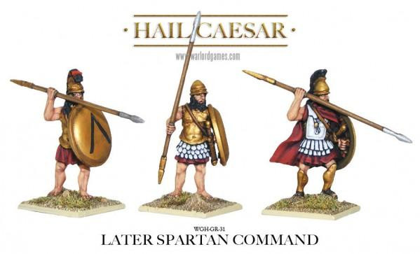 Hail Caesar: Greeks: Later Spartan Command