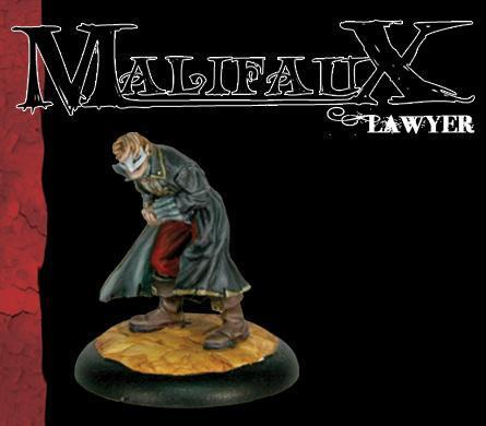 Malifaux: Guild: Lawyer [SALE]